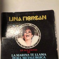 Discos de vinilo: LINA MORGAN. Lote 173956560