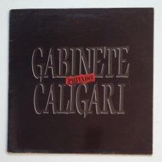 Discos de vinilo: GABINETE CALIGARI - PRIVADO. LP. TDKLP. Lote 173966078