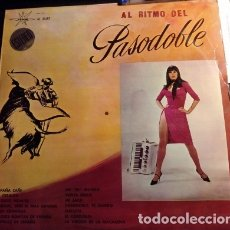 Discos de vinilo: AL RITMO DEL PASODOBLE. LP.. Lote 173748078