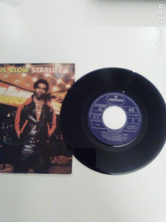 Discos de vinilo: KURTIS BLOW Starlife / Way out west ( 1981 MERCURY ESPAÑA ) - Foto 3 - 173976718