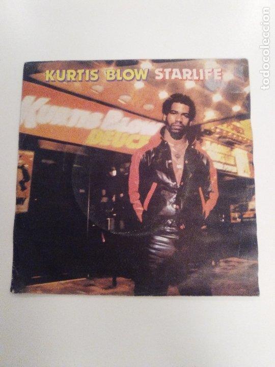 KURTIS BLOW STARLIFE / WAY OUT WEST ( 1981 MERCURY ESPAÑA ) (Música - Discos - Singles Vinilo - Rap / Hip Hop)
