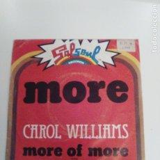 Discos de vinilo: CARLO WILLIAMS MORE / MORE OF MORE ( 1976 SALSOUL ESPAÑA ). Lote 173976773