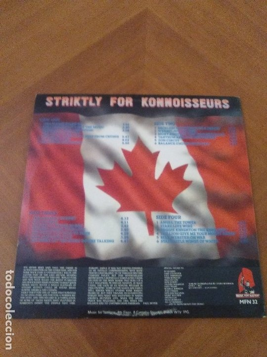 Discos de vinilo: DOBLE LP HEAVY METAL MUSIC FOR NATIONS.striktly for konnoiswseurs.varios.england,1982.ANGEL/STARZ - Foto 4 - 173982214