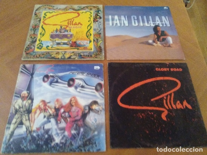 Discos de vinilo: SUPER LOTE. 4 LPS. IAN GILLAN ( DEEP PURPLE ) MAGIC/GLORY ROAD/NAKED THUNDER/FUTURE SHOCK. - Foto 1 - 173983568