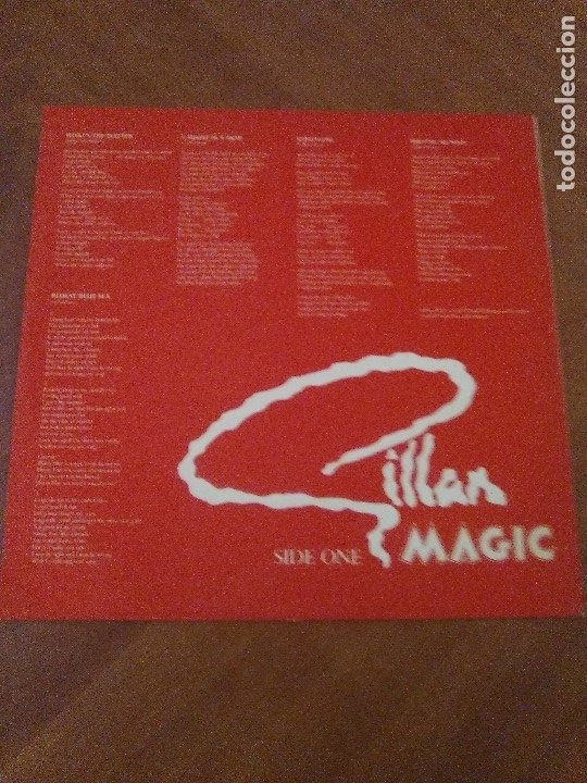 Discos de vinilo: SUPER LOTE. 4 LPS. IAN GILLAN ( DEEP PURPLE ) MAGIC/GLORY ROAD/NAKED THUNDER/FUTURE SHOCK. - Foto 7 - 173983568