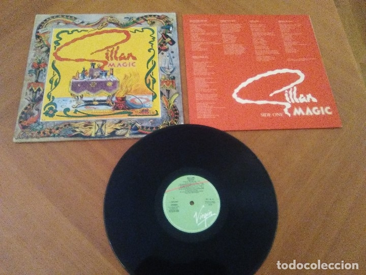 Discos de vinilo: SUPER LOTE. 4 LPS. IAN GILLAN ( DEEP PURPLE ) MAGIC/GLORY ROAD/NAKED THUNDER/FUTURE SHOCK. - Foto 8 - 173983568