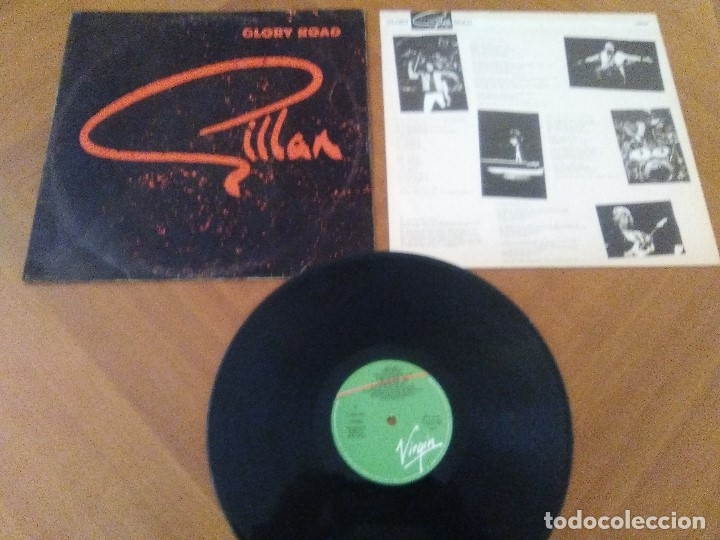 Discos de vinilo: SUPER LOTE. 4 LPS. IAN GILLAN ( DEEP PURPLE ) MAGIC/GLORY ROAD/NAKED THUNDER/FUTURE SHOCK. - Foto 26 - 173983568