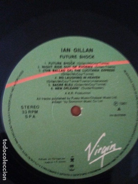 Discos de vinilo: SUPER LOTE. 4 LPS. IAN GILLAN ( DEEP PURPLE ) MAGIC/GLORY ROAD/NAKED THUNDER/FUTURE SHOCK. - Foto 34 - 173983568