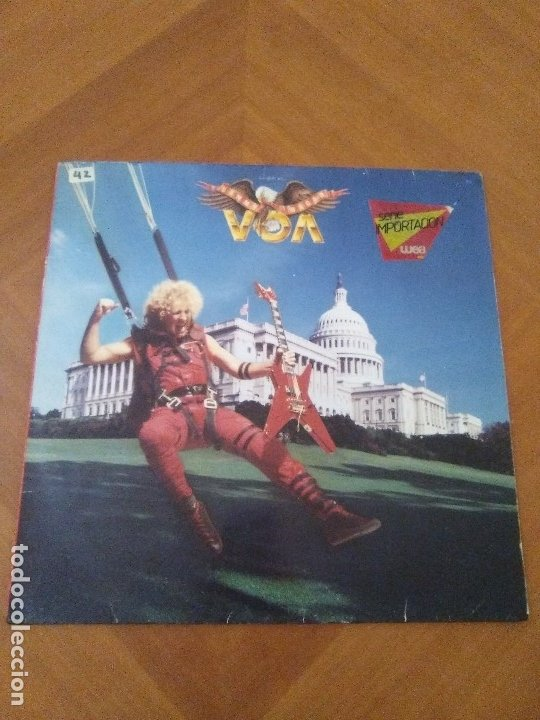 Discos de vinilo: LOTE 3 LPS HEAVY METAL.SAMMY HAGAR/LIVE 1980.BLAZE OF GLORY.JON BON JOVI.SAMMY HAGAR VOA. - Foto 2 - 173985193
