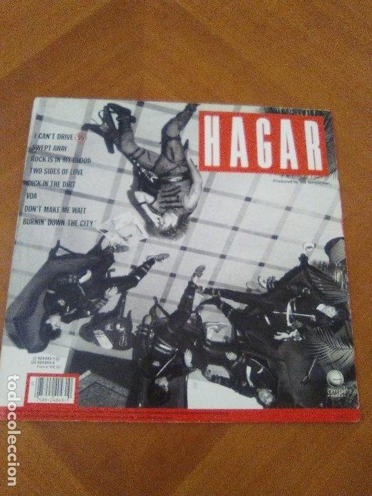 Discos de vinilo: LOTE 3 LPS HEAVY METAL.SAMMY HAGAR/LIVE 1980.BLAZE OF GLORY.JON BON JOVI.SAMMY HAGAR VOA. - Foto 3 - 173985193