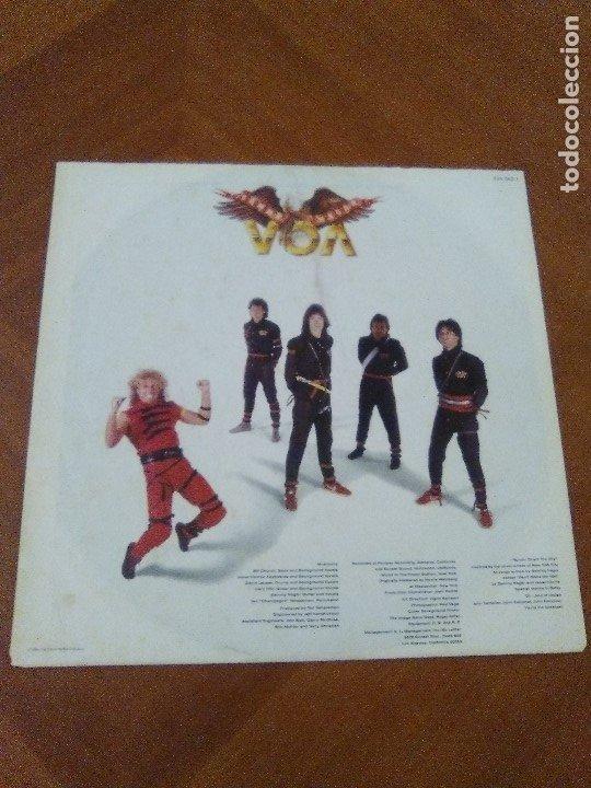 Discos de vinilo: LOTE 3 LPS HEAVY METAL.SAMMY HAGAR/LIVE 1980.BLAZE OF GLORY.JON BON JOVI.SAMMY HAGAR VOA. - Foto 4 - 173985193