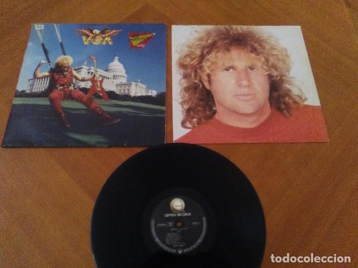 Discos de vinilo: LOTE 3 LPS HEAVY METAL.SAMMY HAGAR/LIVE 1980.BLAZE OF GLORY.JON BON JOVI.SAMMY HAGAR VOA. - Foto 6 - 173985193