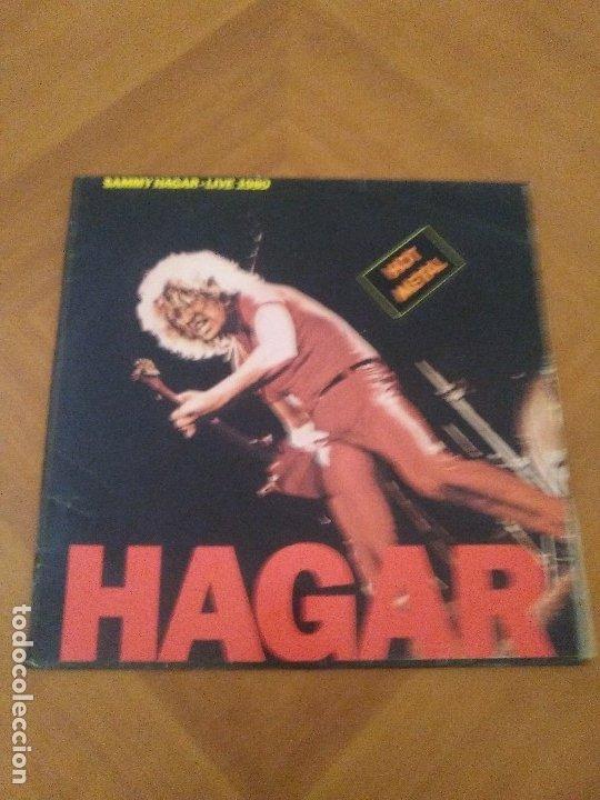Discos de vinilo: LOTE 3 LPS HEAVY METAL.SAMMY HAGAR/LIVE 1980.BLAZE OF GLORY.JON BON JOVI.SAMMY HAGAR VOA. - Foto 7 - 173985193