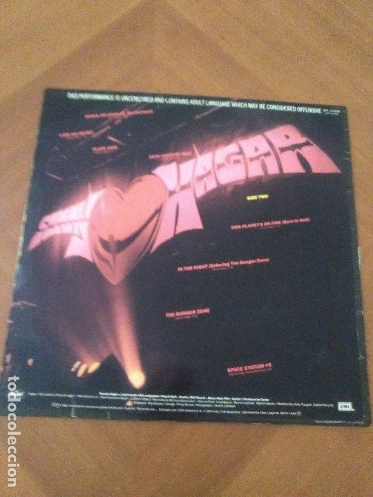 Discos de vinilo: LOTE 3 LPS HEAVY METAL.SAMMY HAGAR/LIVE 1980.BLAZE OF GLORY.JON BON JOVI.SAMMY HAGAR VOA. - Foto 8 - 173985193