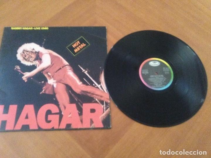 Discos de vinilo: LOTE 3 LPS HEAVY METAL.SAMMY HAGAR/LIVE 1980.BLAZE OF GLORY.JON BON JOVI.SAMMY HAGAR VOA. - Foto 9 - 173985193