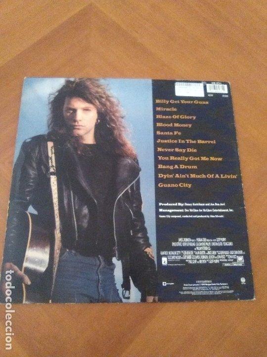 Discos de vinilo: LOTE 3 LPS HEAVY METAL.SAMMY HAGAR/LIVE 1980.BLAZE OF GLORY.JON BON JOVI.SAMMY HAGAR VOA. - Foto 13 - 173985193
