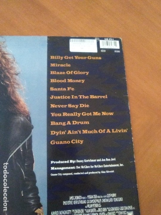 Discos de vinilo: LOTE 3 LPS HEAVY METAL.SAMMY HAGAR/LIVE 1980.BLAZE OF GLORY.JON BON JOVI.SAMMY HAGAR VOA. - Foto 14 - 173985193