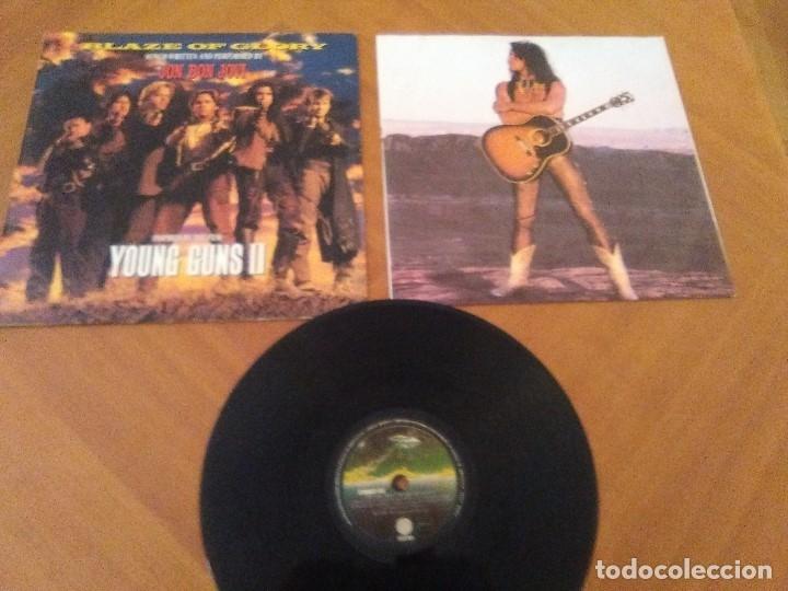 Discos de vinilo: LOTE 3 LPS HEAVY METAL.SAMMY HAGAR/LIVE 1980.BLAZE OF GLORY.JON BON JOVI.SAMMY HAGAR VOA. - Foto 19 - 173985193
