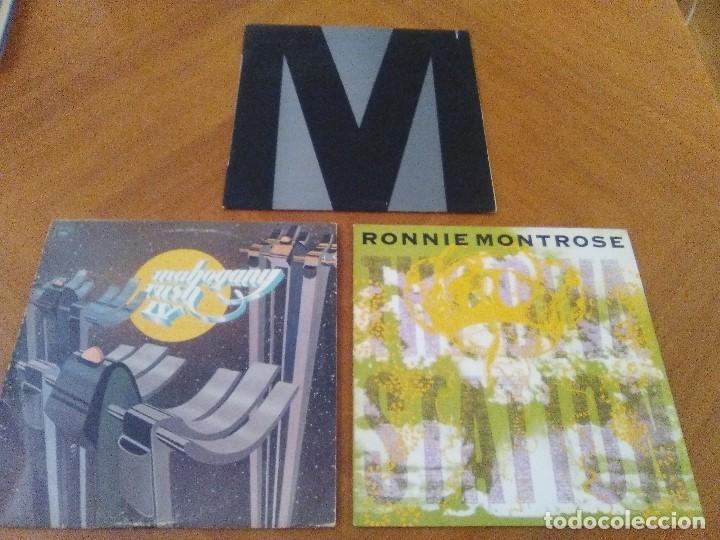 LOTE 3 LPS. RONNIE MONTROSE.THE DIVA STATION. MONTROSE. M. MAHOGANY RUSH. IV. (Música - Discos - LP Vinilo - Heavy - Metal)
