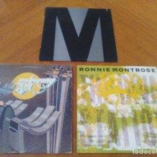 Discos de vinilo: LOTE 3 LPS. RONNIE MONTROSE.THE DIVA STATION. MONTROSE. M. MAHOGANY RUSH. IV.. Lote 173986303