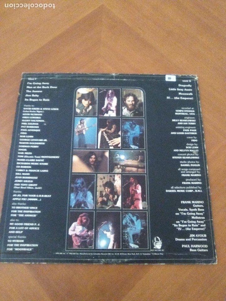Discos de vinilo: LOTE 3 LPS. RONNIE MONTROSE.THE DIVA STATION. MONTROSE. M. MAHOGANY RUSH. IV. - Foto 3 - 173986303