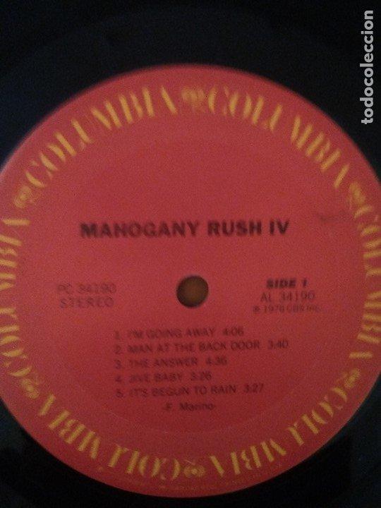 Discos de vinilo: LOTE 3 LPS. RONNIE MONTROSE.THE DIVA STATION. MONTROSE. M. MAHOGANY RUSH. IV. - Foto 10 - 173986303