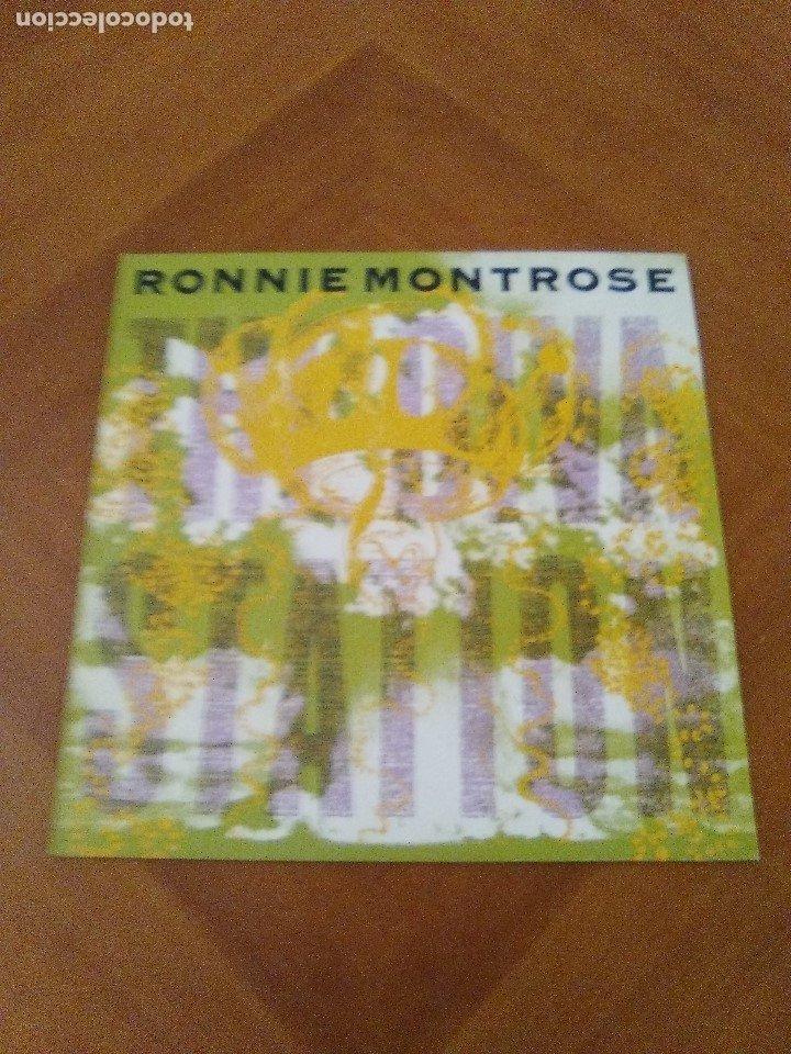 Discos de vinilo: LOTE 3 LPS. RONNIE MONTROSE.THE DIVA STATION. MONTROSE. M. MAHOGANY RUSH. IV. - Foto 15 - 173986303