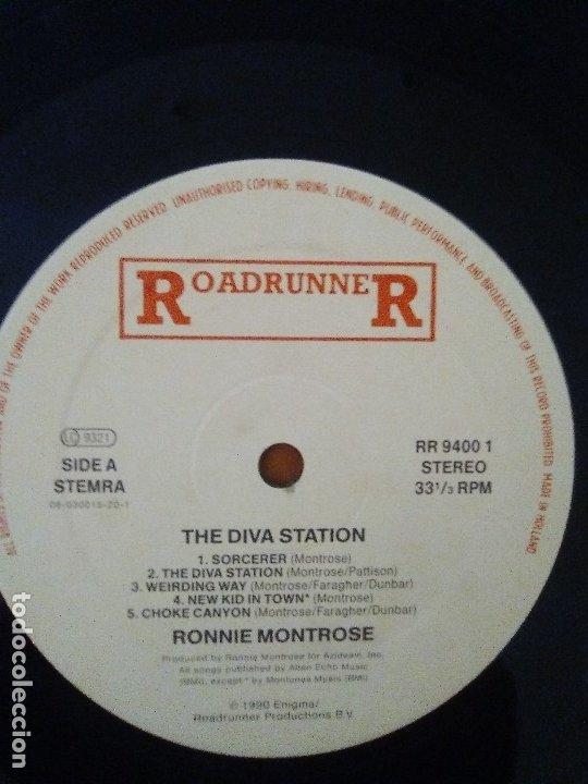 Discos de vinilo: LOTE 3 LPS. RONNIE MONTROSE.THE DIVA STATION. MONTROSE. M. MAHOGANY RUSH. IV. - Foto 18 - 173986303
