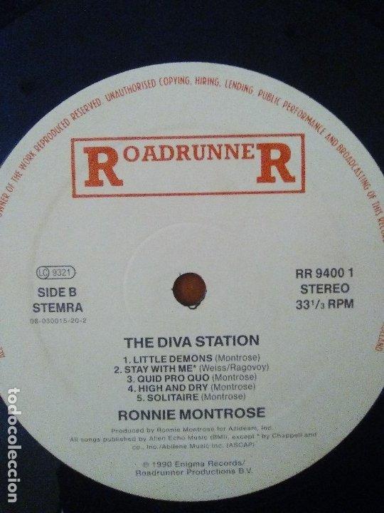 Discos de vinilo: LOTE 3 LPS. RONNIE MONTROSE.THE DIVA STATION. MONTROSE. M. MAHOGANY RUSH. IV. - Foto 19 - 173986303