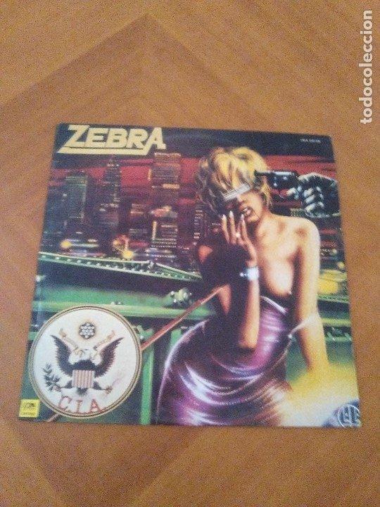 Discos de vinilo: LOTE 3 LPS. ZEBRA/VENOM.CALM BEFORE THE STORM/WHITE LION.PRIDE. - Foto 2 - 173987394