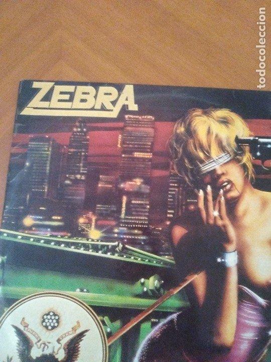 Discos de vinilo: LOTE 3 LPS. ZEBRA/VENOM.CALM BEFORE THE STORM/WHITE LION.PRIDE. - Foto 4 - 173987394