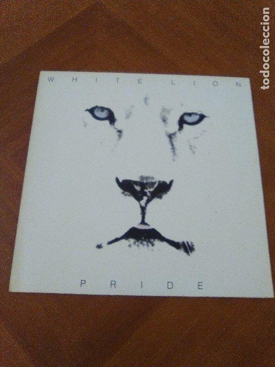 Discos de vinilo: LOTE 3 LPS. ZEBRA/VENOM.CALM BEFORE THE STORM/WHITE LION.PRIDE. - Foto 9 - 173987394