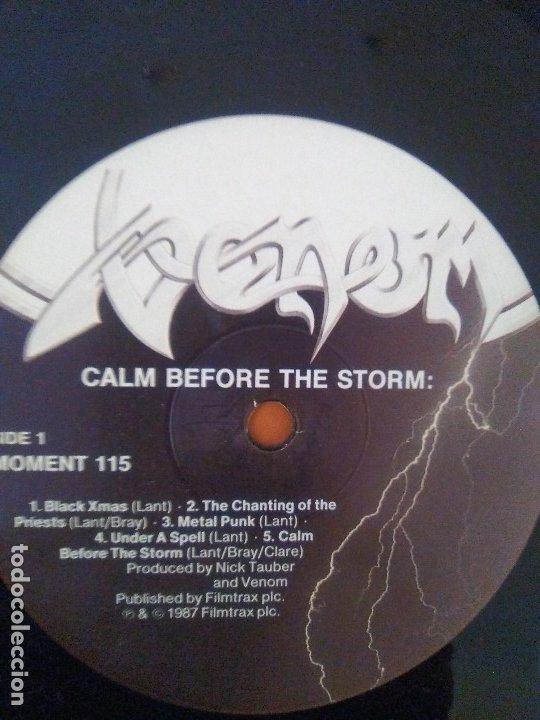 Discos de vinilo: LOTE 3 LPS. ZEBRA/VENOM.CALM BEFORE THE STORM/WHITE LION.PRIDE. - Foto 22 - 173987394