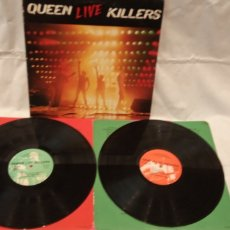Discos de vinilo: QUEEN -LIVE KILLERS- (1980) 2 X LP DISCO VINILO. Lote 173988362