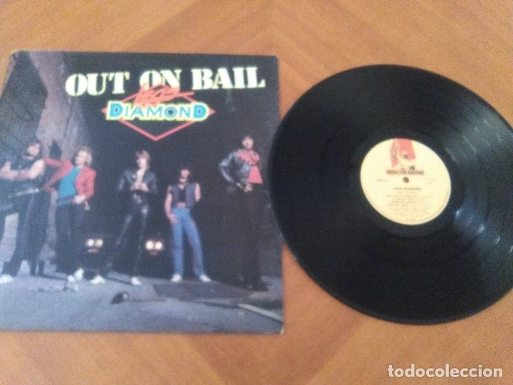 Discos de vinilo: LOTE 3 LPS. HERMAN GERMAN AND FRIENDS(SCORPIONS)./ATOM SEED,GET IN LINE./LEGS DIAMOND.OUT ON BAIL. - Foto 15 - 173988365