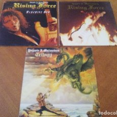 Discos de vinilo: LOTE 3 LPS. YNGWIE J. MALMSTEEN´S. RISING FORCE/TRILOGY/RISING FORCE MARCHING OUT.. Lote 173989049