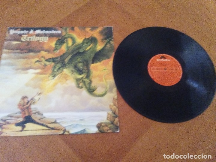 Discos de vinilo: LOTE 3 LPS. YNGWIE J. MALMSTEEN´S. RISING FORCE/TRILOGY/RISING FORCE MARCHING OUT. - Foto 6 - 173989049