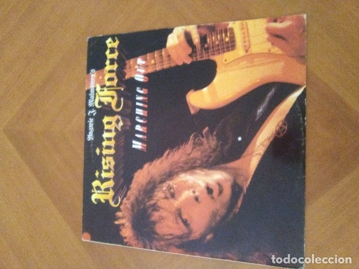 Discos de vinilo: LOTE 3 LPS. YNGWIE J. MALMSTEEN´S. RISING FORCE/TRILOGY/RISING FORCE MARCHING OUT. - Foto 14 - 173989049