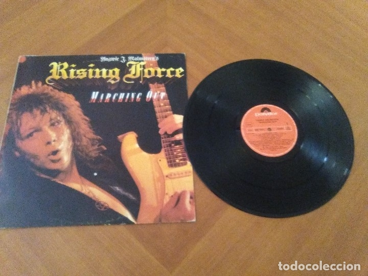 Discos de vinilo: LOTE 3 LPS. YNGWIE J. MALMSTEEN´S. RISING FORCE/TRILOGY/RISING FORCE MARCHING OUT. - Foto 16 - 173989049
