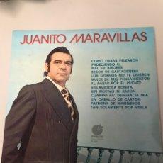 Discos de vinilo: JUANITO MARAVILLAS. Lote 173990785