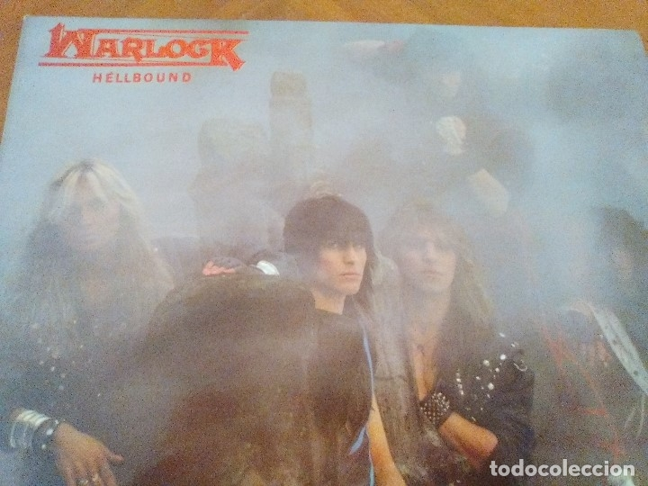Discos de vinilo: LOTE 3 LPS. WARLOCK.HELLBOUND/ROGUE MALE.ANIMAL MAN/MASS.VOICES IN THE NIGHT. - Foto 4 - 173990818