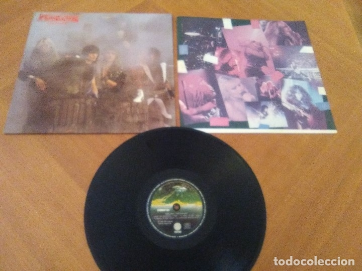 Discos de vinilo: LOTE 3 LPS. WARLOCK.HELLBOUND/ROGUE MALE.ANIMAL MAN/MASS.VOICES IN THE NIGHT. - Foto 10 - 173990818