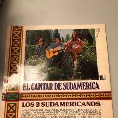 Discos de vinilo: LOS 3 SUDAMERICANOS. Lote 173991254
