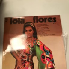 Discos de vinilo: LOLA FLORES. Lote 173991440