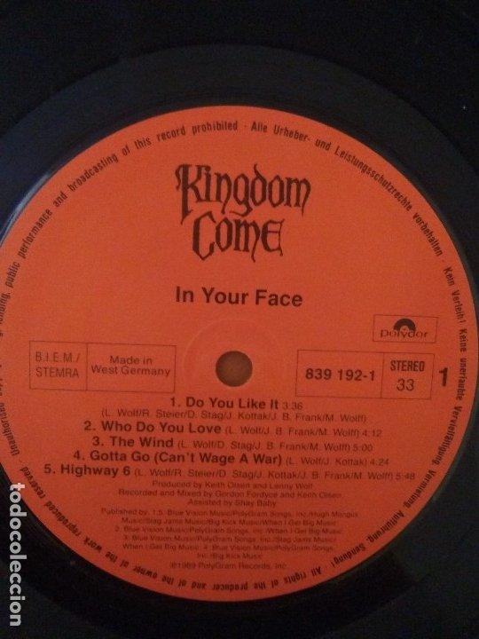 Discos de vinilo: LOTE 3 LPS.JOEY TAFOLLA.Out Of The Sun(JAG PANZER)/KINGDOM COME.IN YOUR FACE/DAVID LEE ROTH.SKYSCRAP - Foto 8 - 173991642