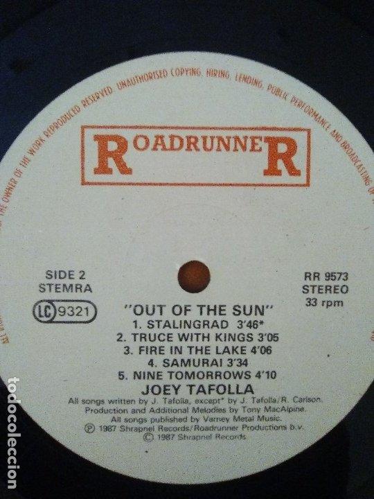 Discos de vinilo: LOTE 3 LPS.JOEY TAFOLLA.Out Of The Sun(JAG PANZER)/KINGDOM COME.IN YOUR FACE/DAVID LEE ROTH.SKYSCRAP - Foto 14 - 173991642
