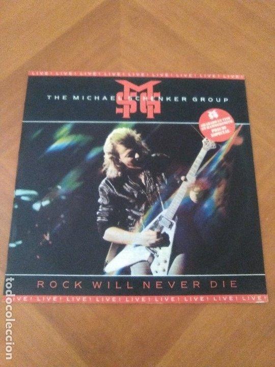 Discos de vinilo: LOTE 2 LPS. THE MICHAEL SCHENKER GROUP.ROCK WILL NEVER DIE/MAGNUM.VIGILANTE. - Foto 2 - 173992163