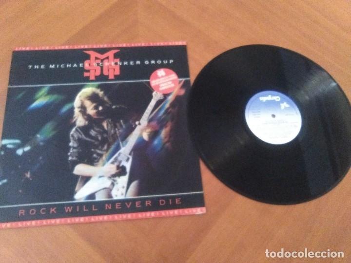 Discos de vinilo: LOTE 2 LPS. THE MICHAEL SCHENKER GROUP.ROCK WILL NEVER DIE/MAGNUM.VIGILANTE. - Foto 7 - 173992163