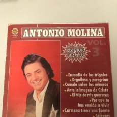 Discos de vinilo: ANTONIO MOLINA. Lote 173992604