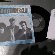 Discos de vinilo: COMITE CISNE - BALAS DE TRANQUILIDAD - SINGLE PROMO. Lote 173996838